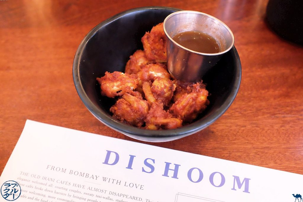 Le Chameau Bleu - Blog Voyage à Londres - Dishoom Calamari - Shoreditch