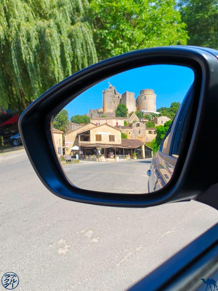 Le Chameau Bleu - Blog Voyage Lot Et Garonne - Chateau de Bonaguil dans le rétroviseur
