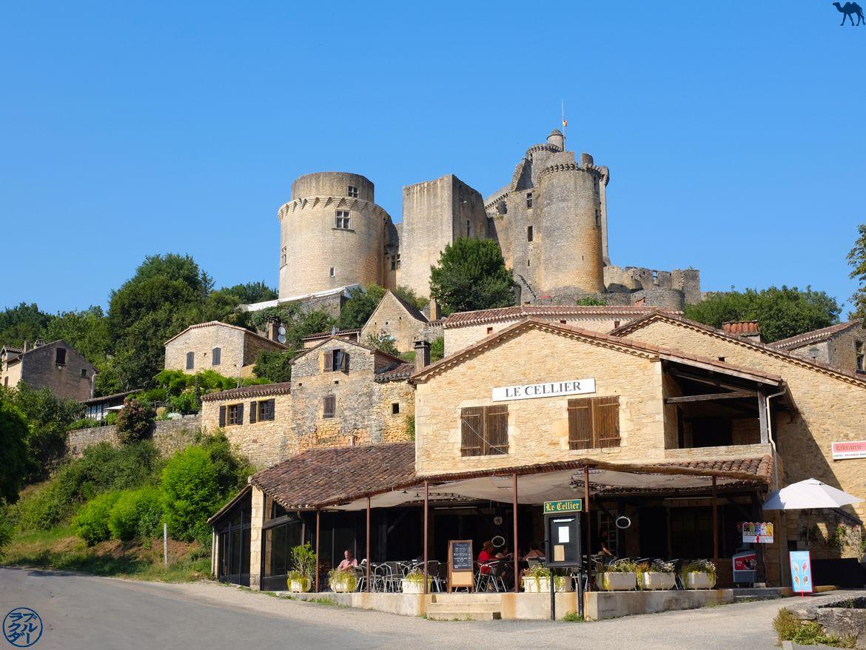 Le Chameau Bleu - Blog Voyage Lot Et Garonne - Vue d'ensemble sur le Chateau de Bonaguil