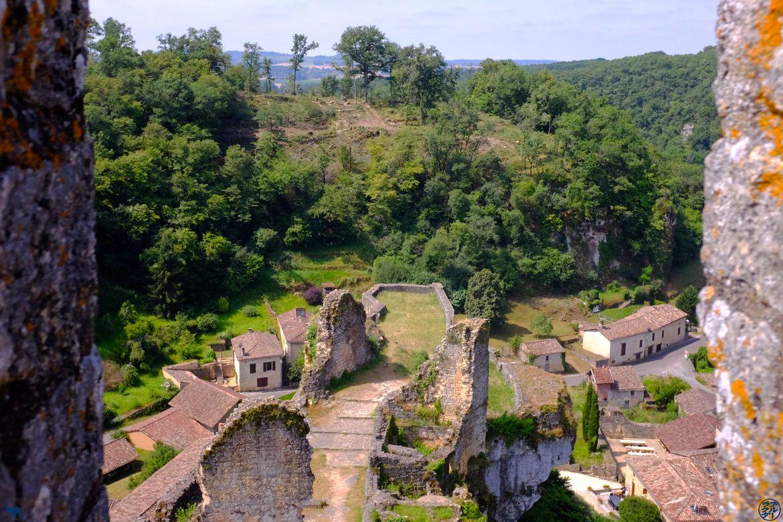 Le Chameau Bleu Blog Voyage Lot Et Garonne - Vue depuis le chateau de Gavaudun