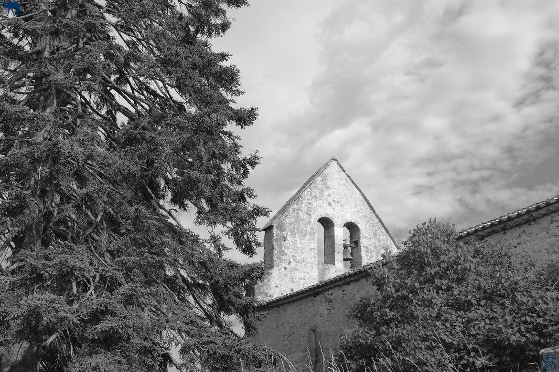 Le Chameau Bleu - Blog Voyage Lot Et Garonne - Mur Clocher