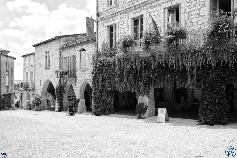 Le Chameau Bleu - Blog Voyage Lot Et Garonne -Centre ville de Monflanquin
