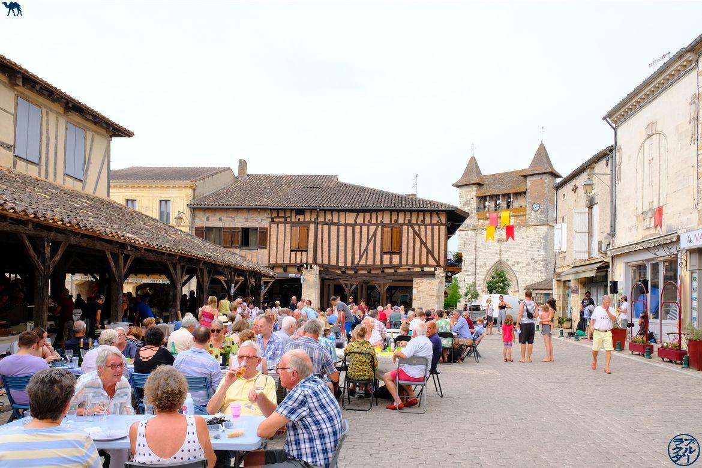 Le Chameau Bleuy - Blog Voyage Lot Et Garonne - Marché Gourmand à Villeréal