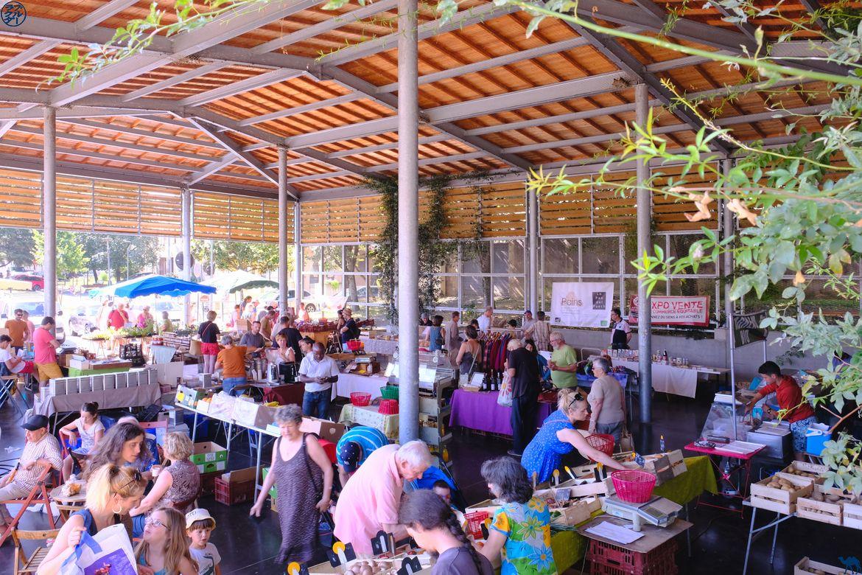 Le Chameau Bleu - Blog Voyage Lot Et Garonne - Marché Bio Villeneuve sur Lot