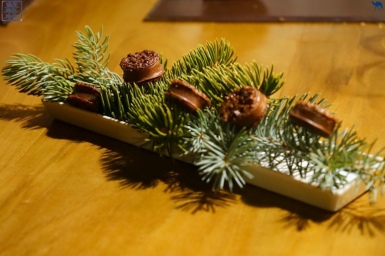 Le Chameau Bleu - Blog Gastronomie - Diner Gastronomique 2 Etoile Michelin au Fornet Benoit Vidal - Mignardise