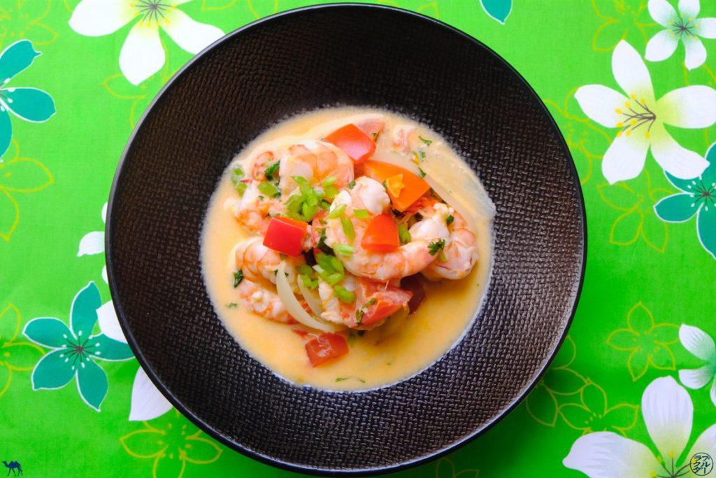 Le Chameau Bleu - Blog Gastronomie - Moqueca de crevettes recette