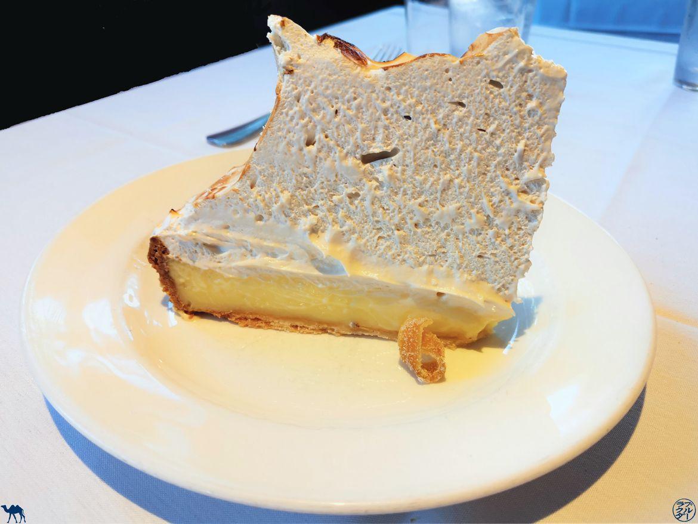 Le Chameau Bleu - Blog Voyage Napa Valley - Mustards Grill Restaurant - Tarte Citron