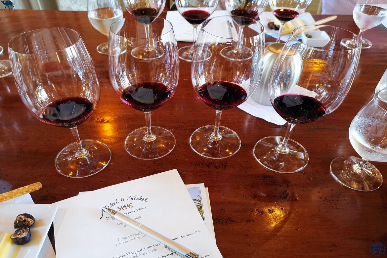 Le Chameau Bleu - Blog Voyage Napa Valley - Dégustation de vin chez Nickel and Nickel