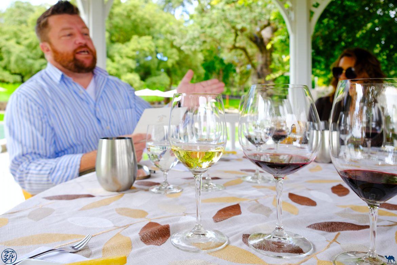 Le Chameau Bleu - Blog Voyage Californie - Maitre de Dégustation de vin à Farniente