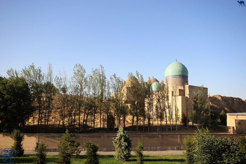 Le Chameau Bleu - Blog Voyage Ouzbékistan - nécropole Sha-i-Zinda à Samarcande
