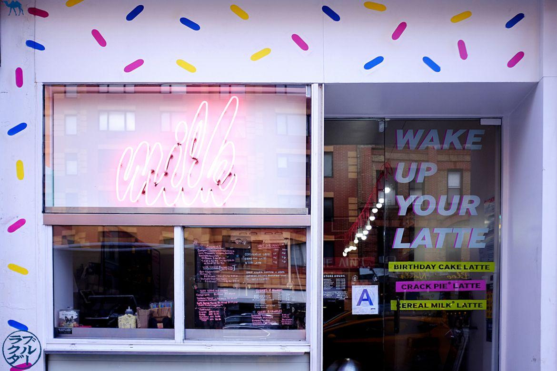 Le Chameau Bleu - Milk Bar Bakery - Sélection d'adresse à Cookies dans New York