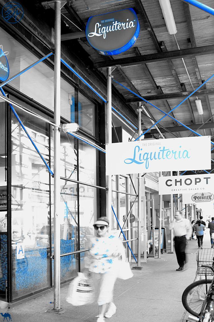 Le Chameau Bleu - Blog Voyage New York City - Bar à Jus La Liquiteria