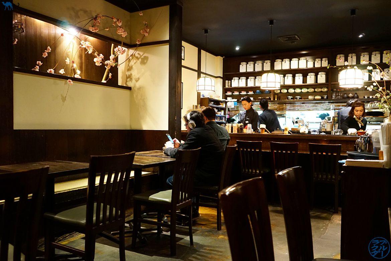 Le Chameau Bleu - Salle de Cha An salon de thé japonais dans l'East Village de New York USA