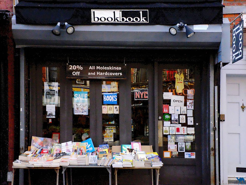 Voyage à New York - Librairie Bookbook - Le Chameau Bleu Blog Voyage New York City