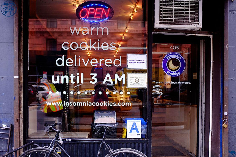 Le Chameau Bleu - Adresse de Cookies à New York - Insomnia Cookies
