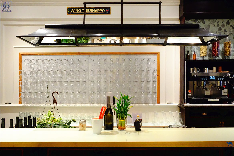 Le Chameau Bleu - Blog Voyage New York City Bar du restaurant New York Le Botaniste vegan Noglu bio