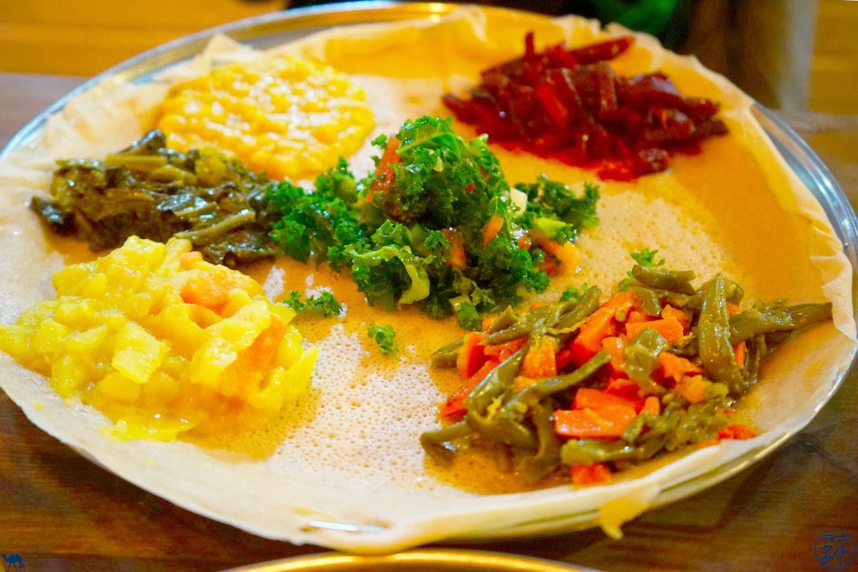 Le Chameau Bleu - Blog Voyage New York City Plats Ethiopiens - Awash Restaurant Ethiopien à New York