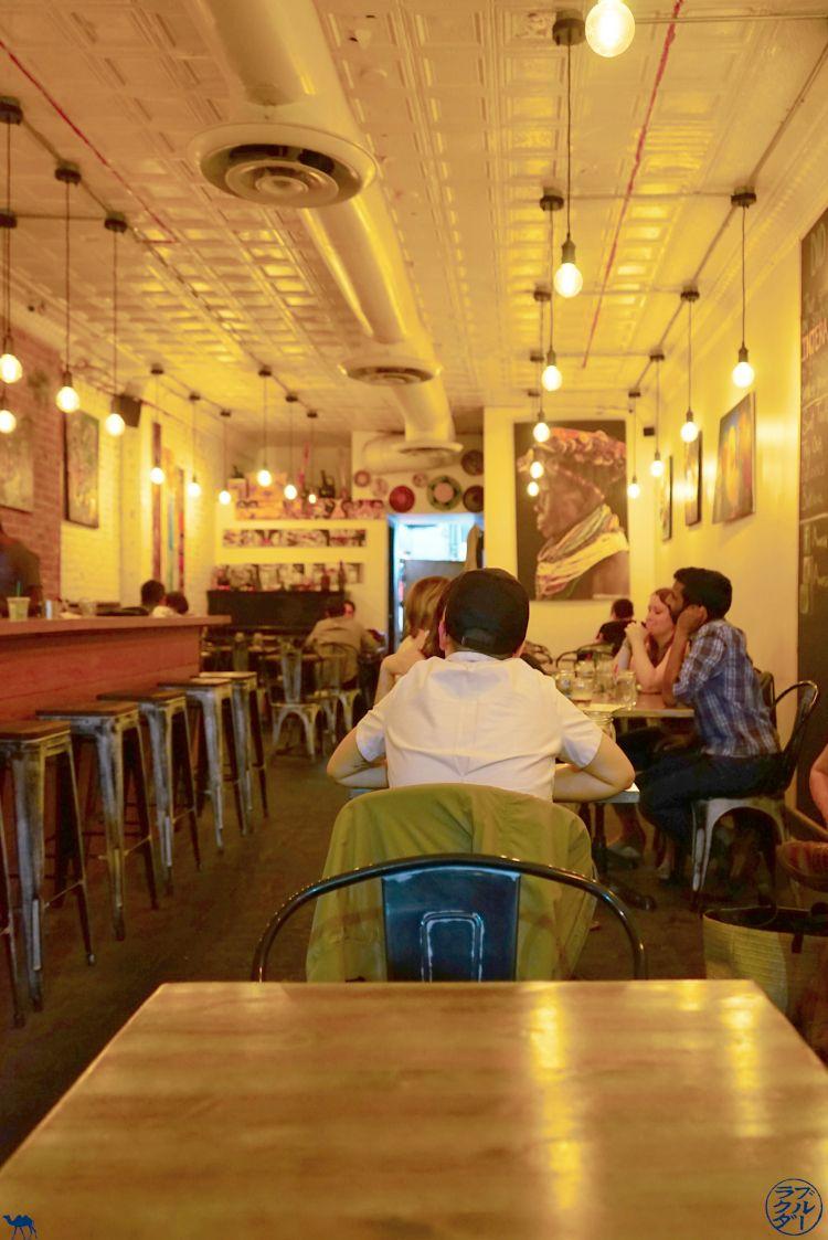 Le Chameau Bleu - Blog Voyage New York City Awash Brooklyn Restaurant Ethiopien à New York