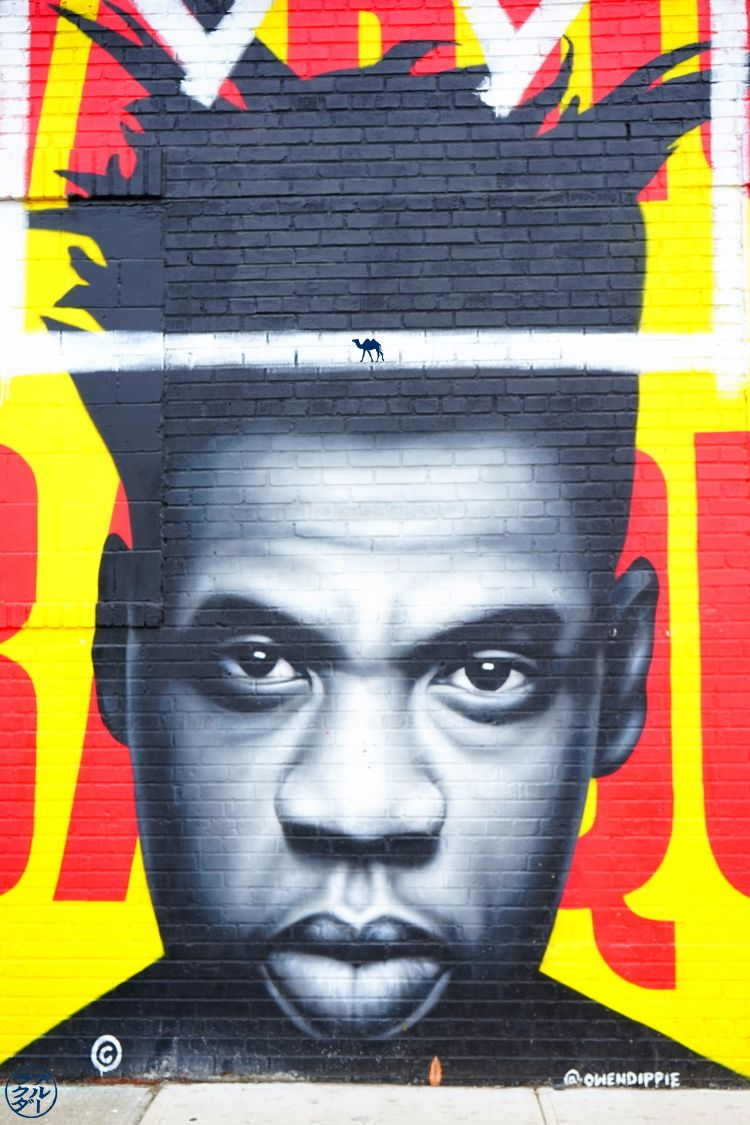 Basquiat Street Art - Le Chameau Bleu Blog Voyage New York City -- Escapade à Bushwick USA