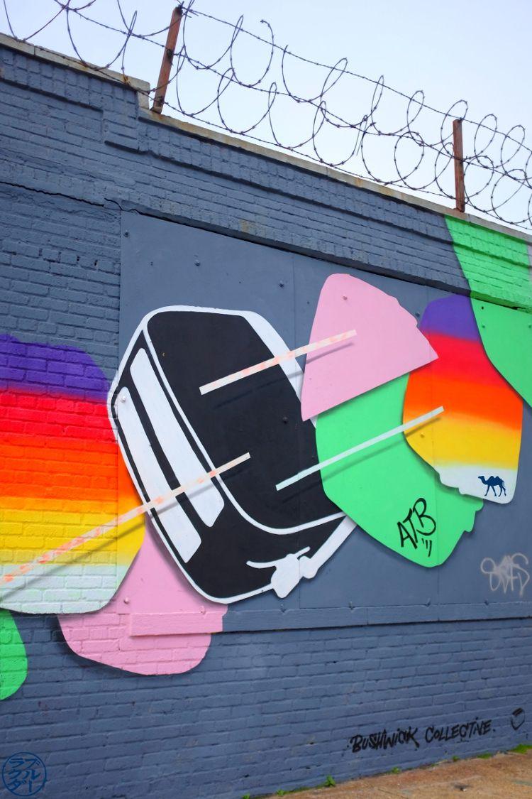 Le Chameau Bleu - Blog Voyage New York City - Hard Candy Street Art - Promenade à Bushwick New York USA