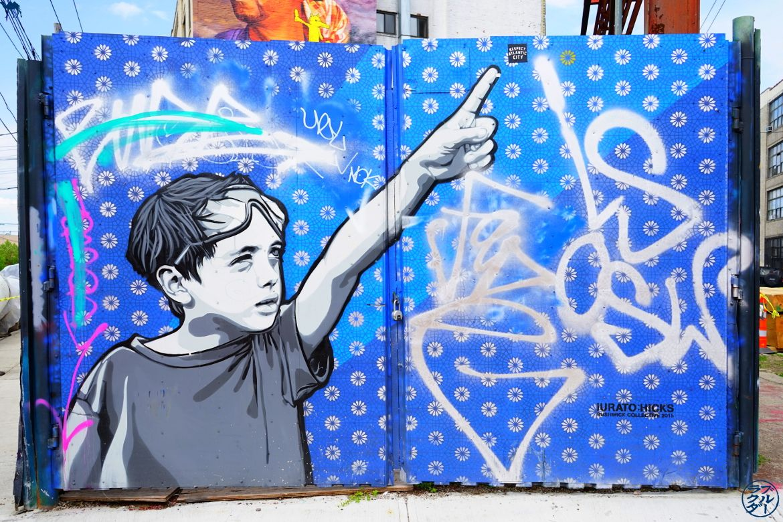 Le Chameau Bleu - Blog Voyage New York City Midnight Special Street Art - Balade à Bushwick New York Brooklyn