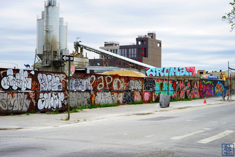 Le Chameau Bleu - Blog Voyage New York City Usine de Bushwick New York - Balade dans Brooklyn