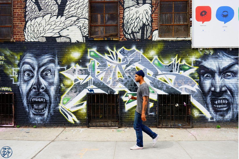 Le Chameau Bleu - Blog Voyage New York City Street Art -Vampire Street Art - BUshwick Brooklyn New York Usa