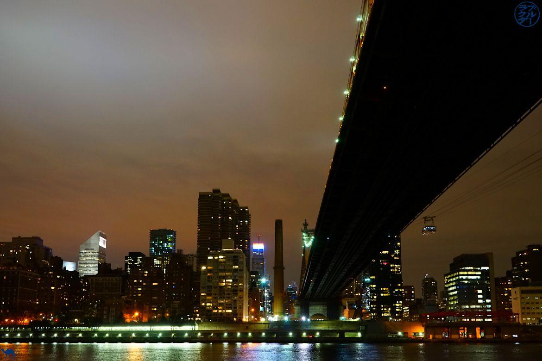 Le Chameau Bleu -Blog Voyage New York City - Vue de Manhattan depuis Roosevelt Island