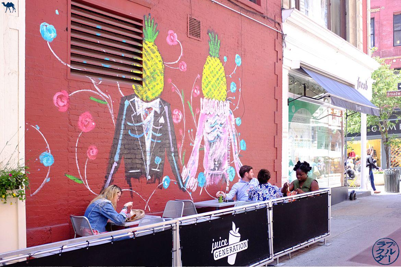 Le Chameau Bleu - Blog Voyage New York City - Bonne adresse de Bar à Jus de Fruit - Juice Generation