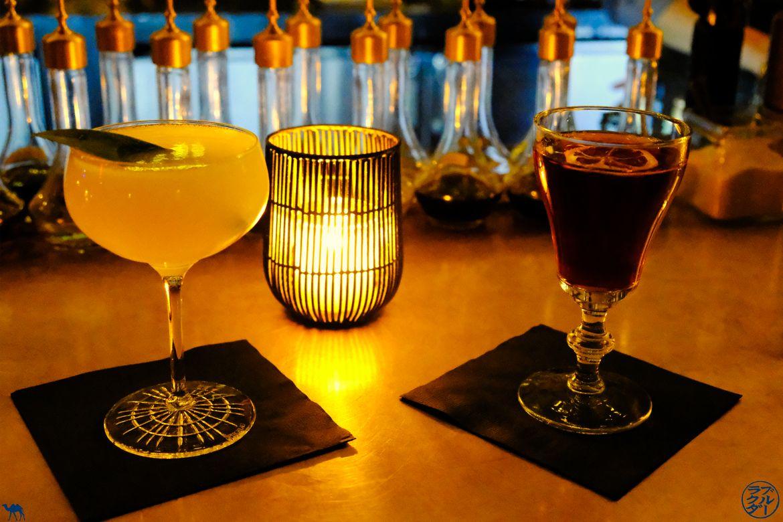 Le Chameau Bleu - Blog Voyage NewYork - Cocktails au SpeakEasy Patent Pending