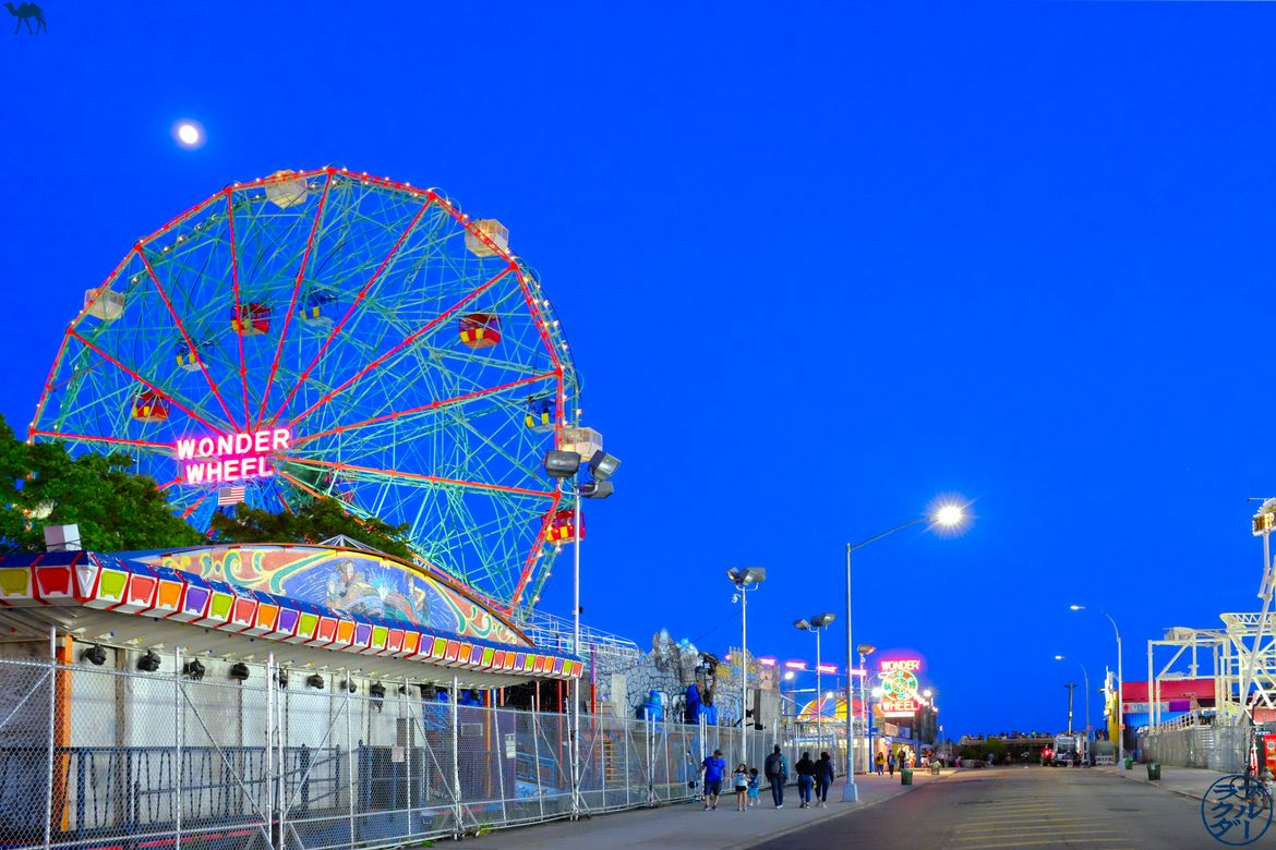 Le Chameau Bleu - Blog Voyage New York - Parc d'attraction à Coney Island