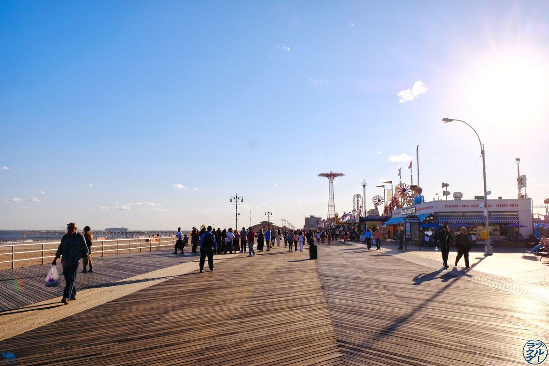 Le Chameau Bleu - Blog Voyage New York - Promenade à Coney Island