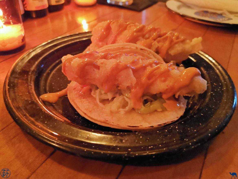 Le Chameau Bleu - Blog Bonne adresse NewYork - La Contenta restaurant mexicain - Fish Taco