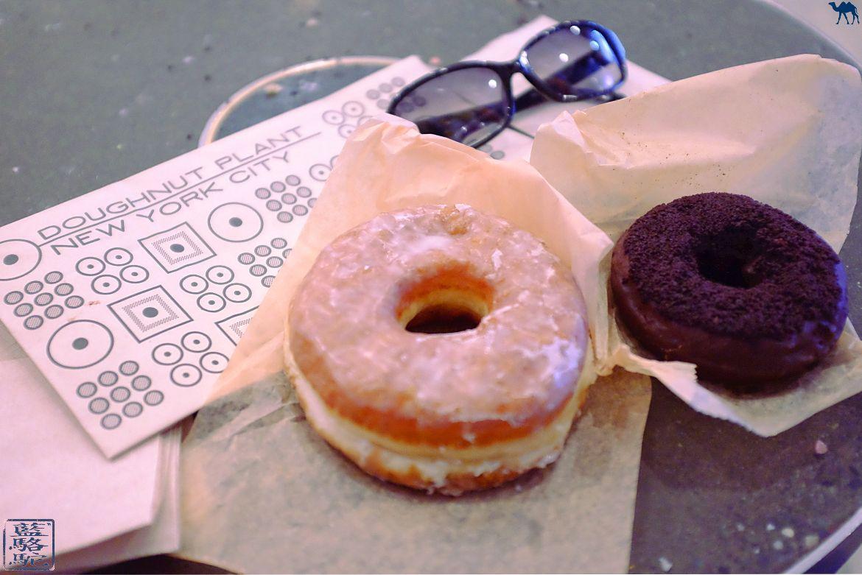 Le Chameau Bleu - Blog Voyage New York - Donuts du Doughnuts Plant - Adresse à Beignet de New York