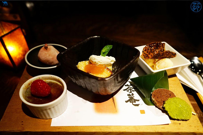 Le Chameau Bleu - Dessert de Cha An salon de thé japonais dans l'East Village de New York USA