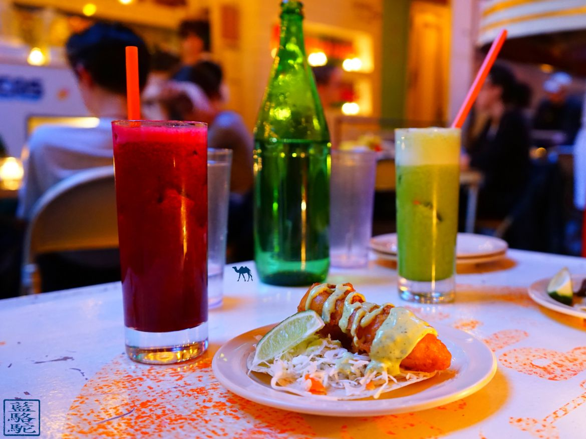 Le Chameau Bleu - Blog Voyage New York City -Tacombi Restaurant de Tacos mexicain à New York