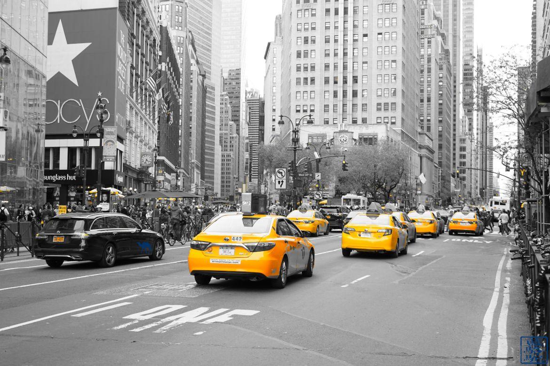 Le Chameau Bleu - Blog Voyage et Gastronomie - Rue de Manhattan - New York USA
