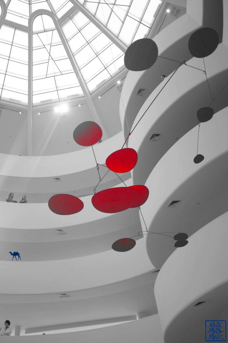 Le Chameau Bleu - Visite du Musée Guggenheim de New York