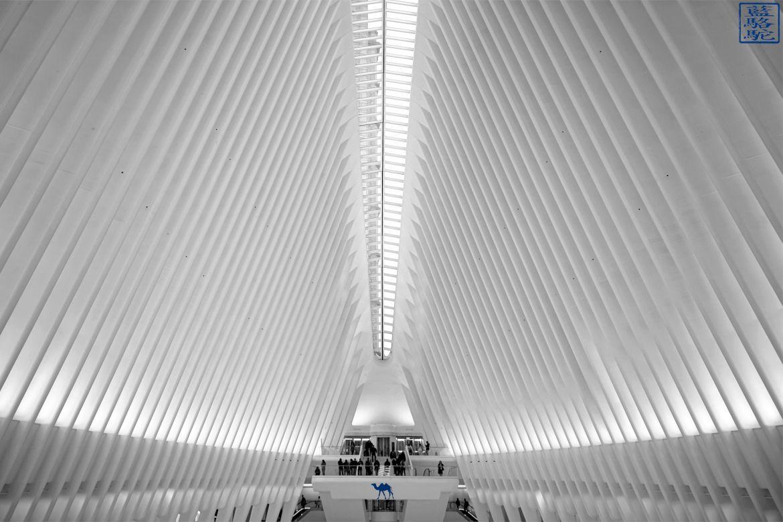 Le Chameau Bleu - Blog Voyage New York - L'intérieur de l'Oculus New York