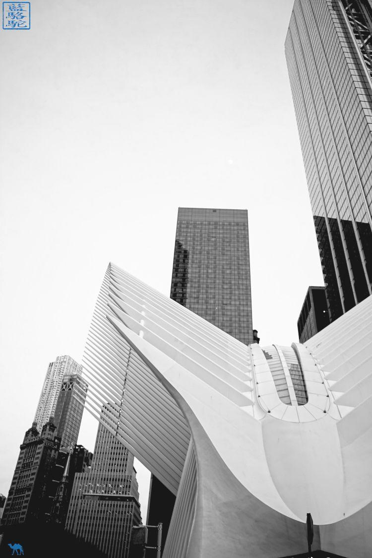 Le Chameau Bleu - Blog Voyage New York - L'extérieur de l'Oculus New York USA