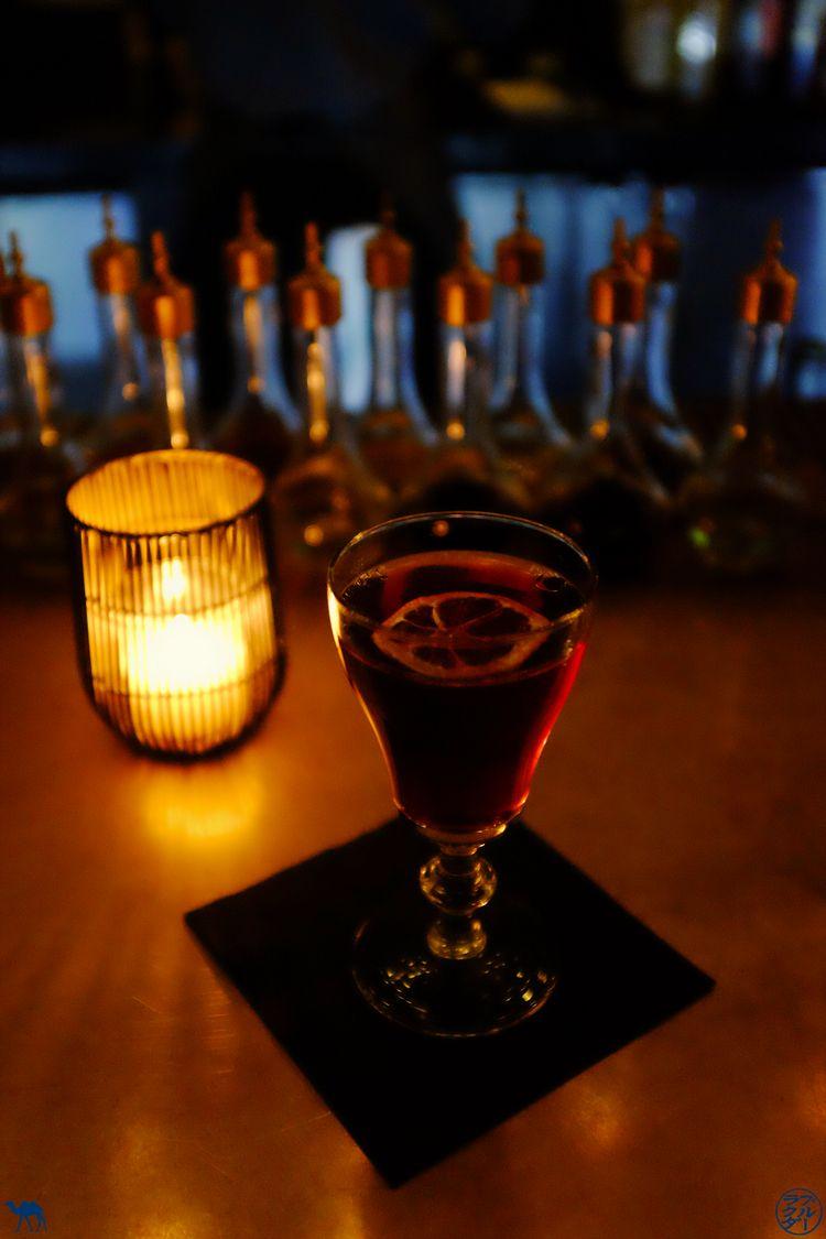 Le Chameau Bleu - Blog Bonne adresse NewYork - Cocktails du SpeakEasy Patent Pending