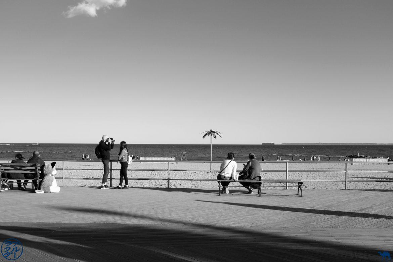 Le Chameau Bleu - Blog Voyage Coney Island. - Balade le long de la mer