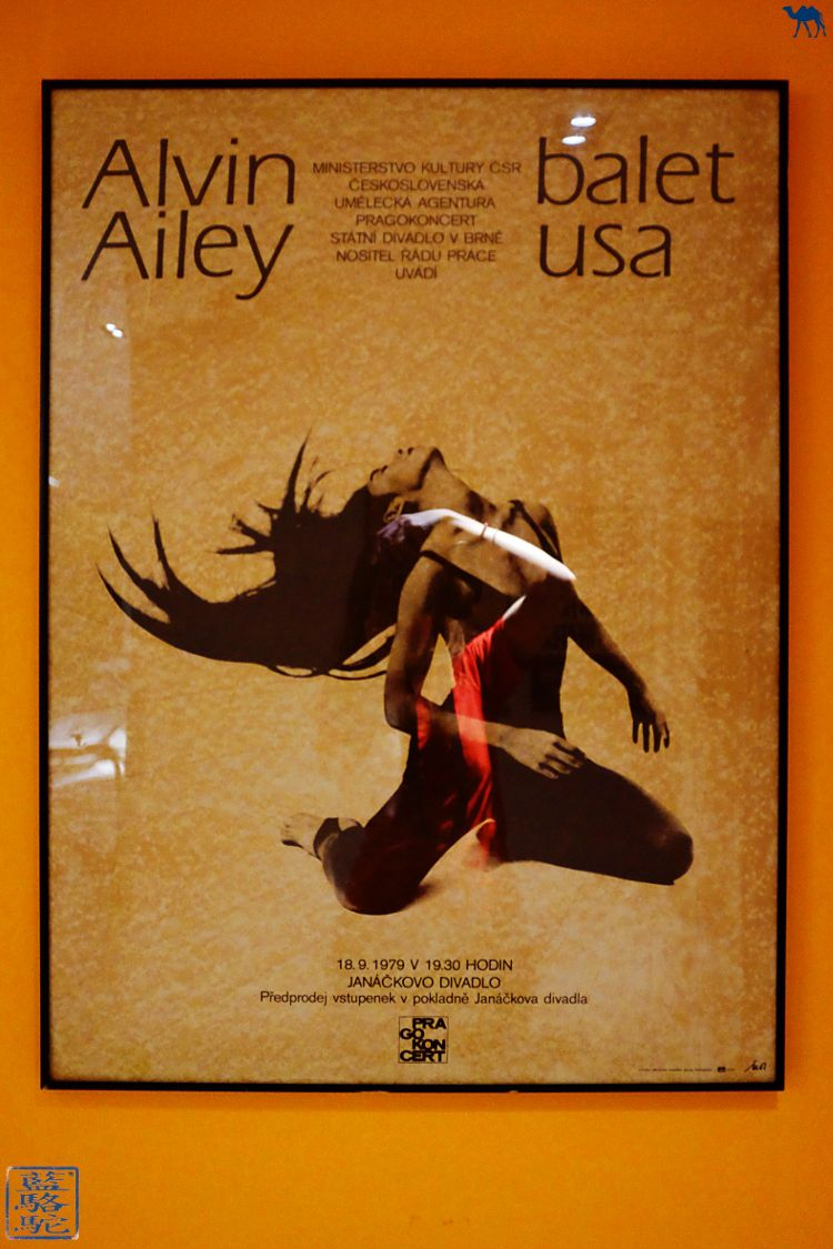 Le Chameau Bleu - Blog Voyage New York City Poster du Studio de danse d'Alvin Ailey à New York USA