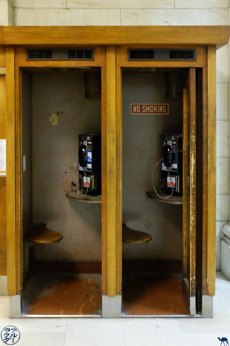 Le Chameau Bleu - New York - Téléphone de NYPL Blog Voyage New York City