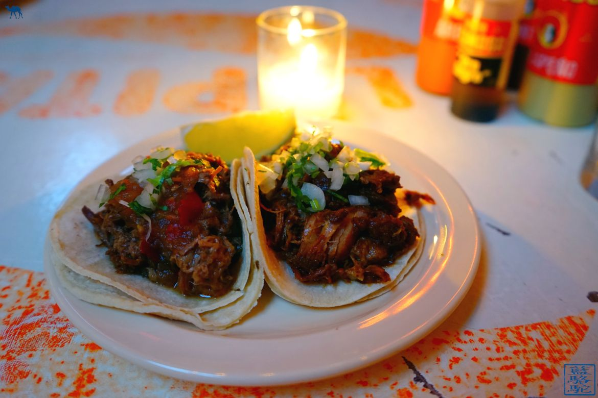 Le Chameau Bleu - Blog Voyage New York City - Tacombi - Barbacoa Tacos New York USA