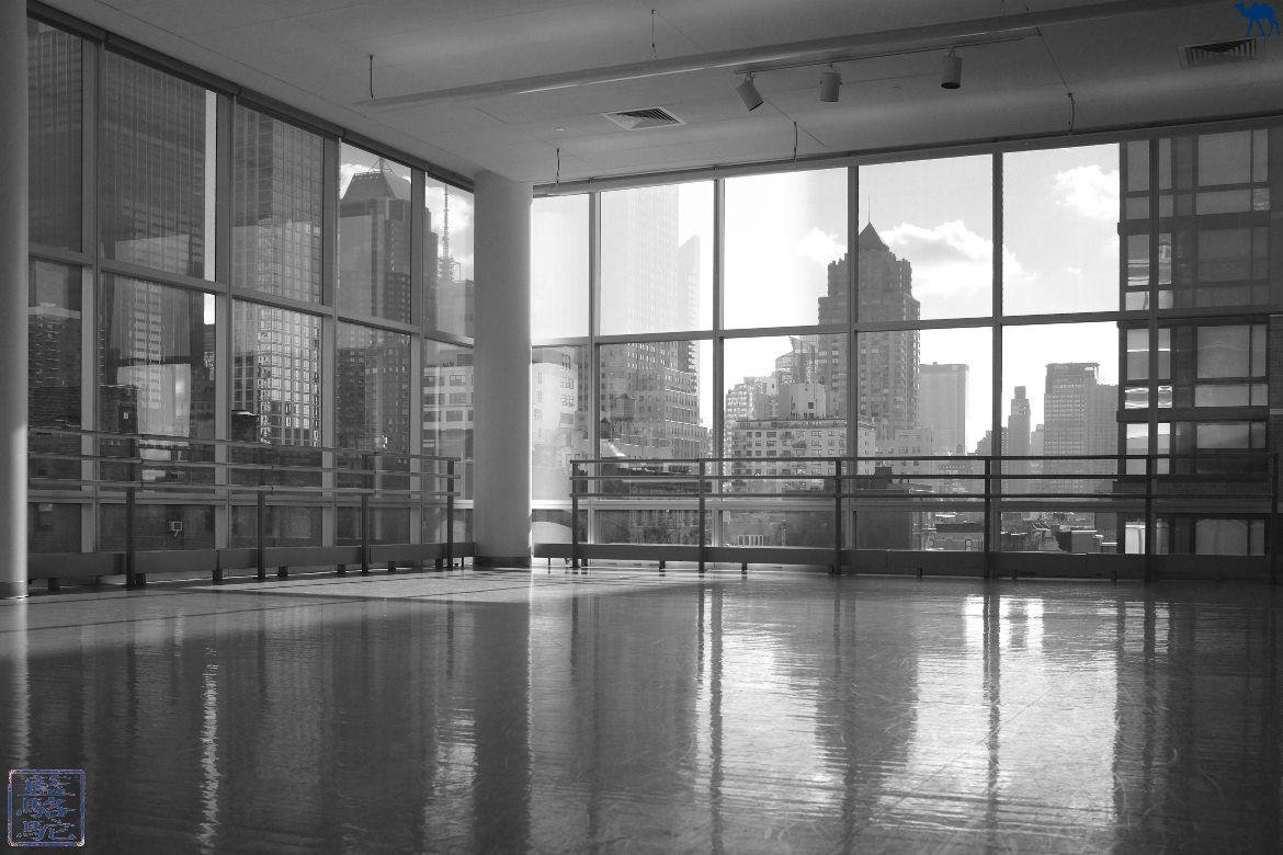 Le Chameau Bleu - Blog Voyage New York City -Studio de danse d'Alvin Ailey à New York USA