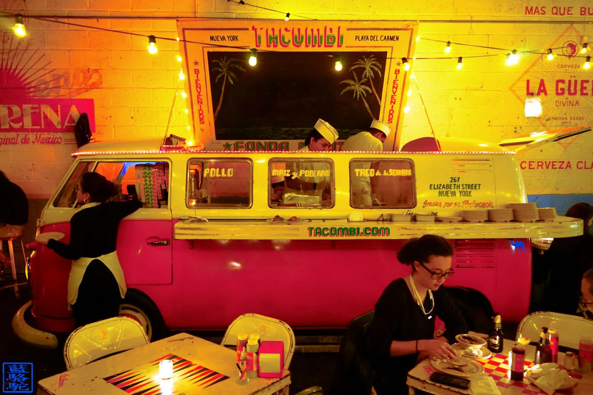 Le Chameau Bleu - Blog Voyage New York City - Tacombi - Camionnette - Resto mexicain New York USA