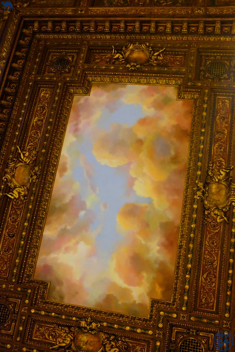 Le Chameau Bleu - Plafond de la Rose Main Reading Room - NYPL