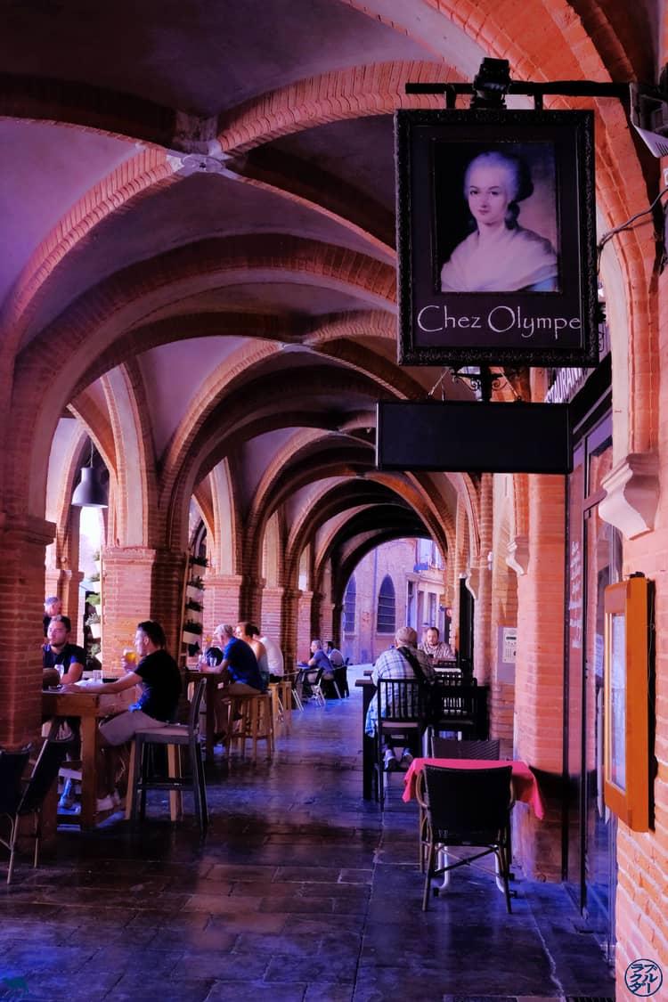 Le Chameau Bleu - Blog Voyage et Gastronomie -  Olympe de Gouges a MOntauban
