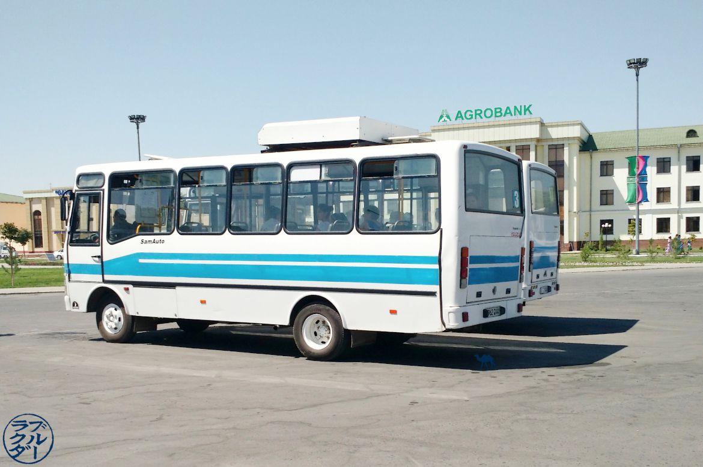 Le Chameau Bleu - Blog Voyage Ouzbékistan - Bus ouzbeks - Voyage en Ouzbékistan Transport